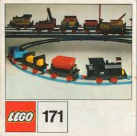 View Instructions For 171-1 - Complete train set without motor