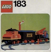 View Instructions For 183-1 - Complete Train Set w/ Motor and Signal