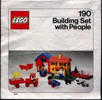 View Instructions For 190-1 - LEGO Building Set with People / Farm Set