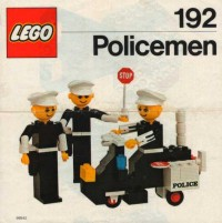 View Instructions For 192-1 - LEGO Building Set with People / Policemen