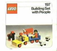 View Instructions For 197-1 - LEGO Building Set with People {Farm Vehicle and Animals}