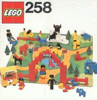 View Instructions For 258-1 - Zoo with Baseboard