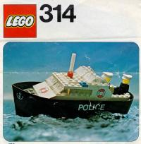 View Instructions For 314-1 - Police Boat