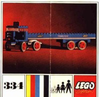 View Instructions For 334-1 - Truck with Flatbed