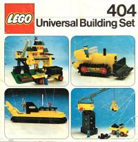 View Instructions For 404-1 - Universal Building Set