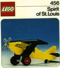 View Instructions For 456-1 - Spirit of St. Louis