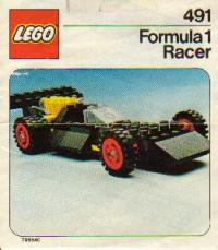 View Instructions For 491-1 - Formula 1 Racer