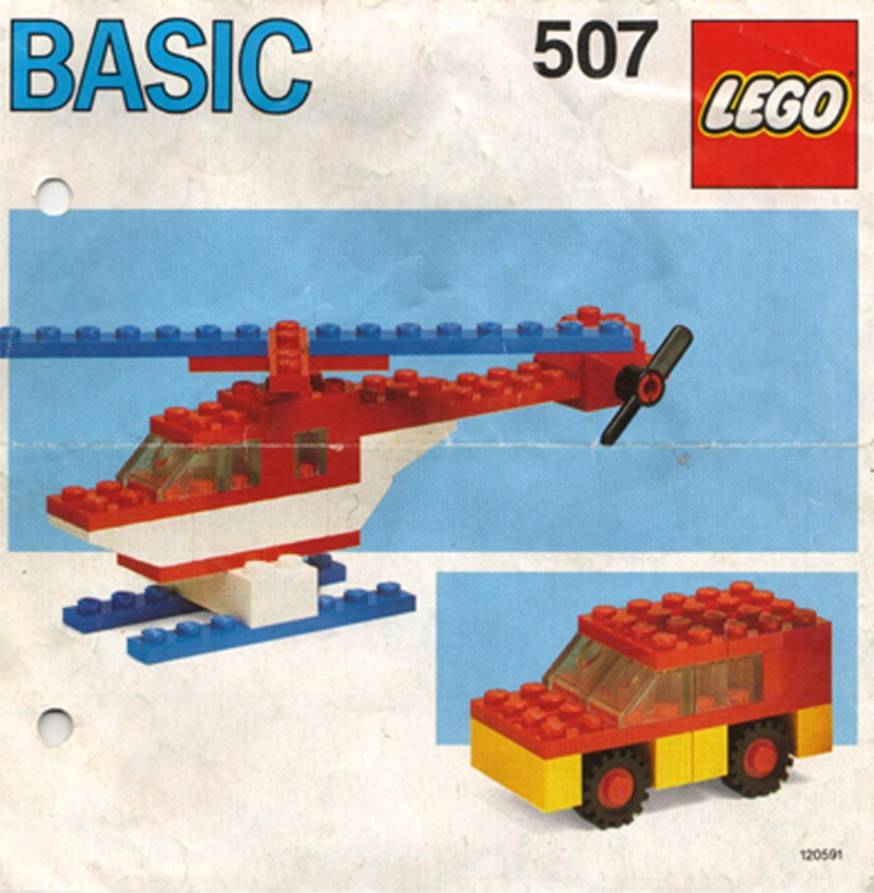 View Instructions For 507-1 - Basic Building Set