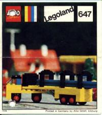View Instructions For 647-1 - Lorry with girders