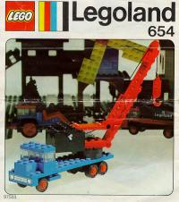 View Instructions For 654-1 - Crane lorry