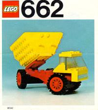 View Instructions For 662-1 - Dumper Lorry
