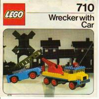 View Instructions For 710-1 - Wrecker with Car