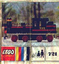 View Instructions For 721-1 - Steam Locomotive