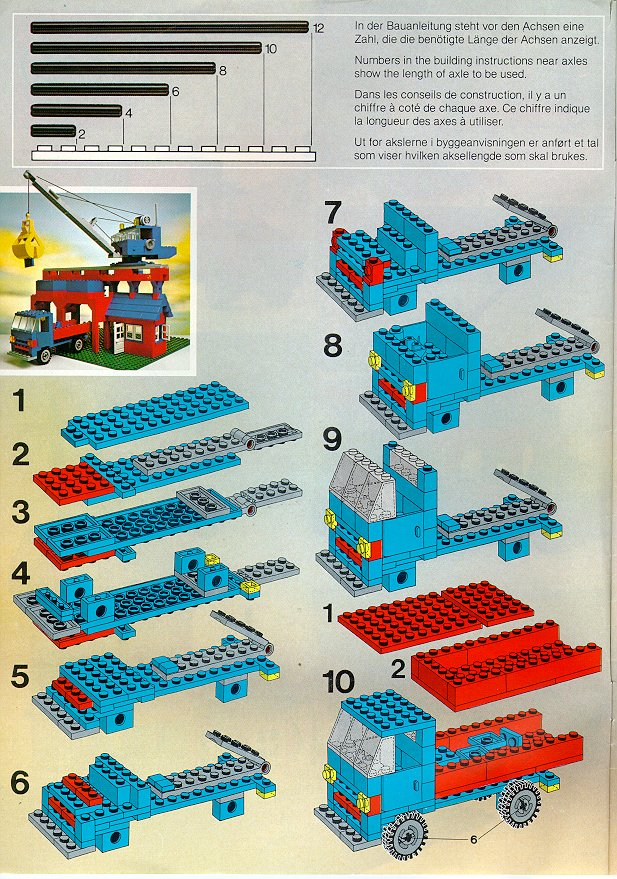 Instructions For 733 1 Universal Building Set Bricksgz
