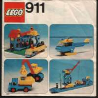 View Instructions For 911-1 - Universal Building Set