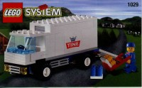 View Instructions For 1029-1 - Tine Promotional Set: Milk Delivery Lorry (Truck)