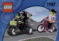 View Instructions For 1197-1 - Tour de France Promotional Set: Racer with Camera chase Motorcycle