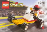 View Instructions For 1250-1 - {SHELL Promotional Set: Service Station Series:} Dragster
