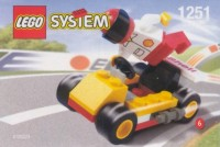 View Instructions For 1251-1 - {SHELL Promotional Set: Service Station Series:} Go Cart