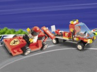 View Instructions For 1253-1 - {SHELL Promotional Set: Service Station Series:}  Formula Racer