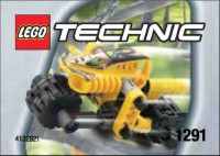 View Instructions For 1291-1 - Kabaya Promotional Set: Yellow (Dirt Bike) RoboRider