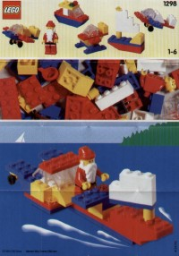 View Instructions For 1298-1 - LEGO Basic/Classic Advent Calendar