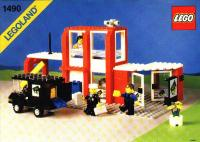 View Instructions For 1490-1 - LEGO Town Bank