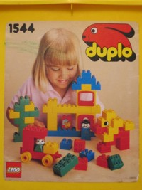 View Instructions For 1544-1 - DUPLO bucket