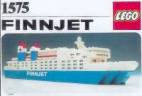 View Instructions For 1575-1 - FINNJET {Promotional Set: Ship}