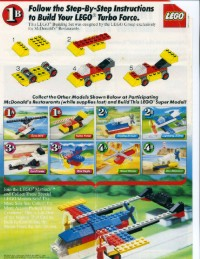 View Instructions For 1647-1 - McDonald's Promotional Set: Turbo Force