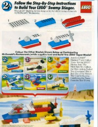 View Instructions For 1648-1 - McDonald's Promotional Set: Swamp Stinger