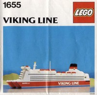 "View Instructions For 1655-1 - VIKING LINE {Promotional Set: Ferry ""Mariella""}"