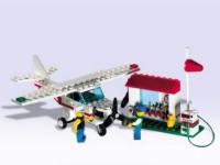 View Instructions For 1808-1 - Airline Promotional Set: Plane with Tools and Pump