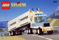 View Instructions For 1831-1 - MAERSK Promotional Set: Tractor-Trailer Truck