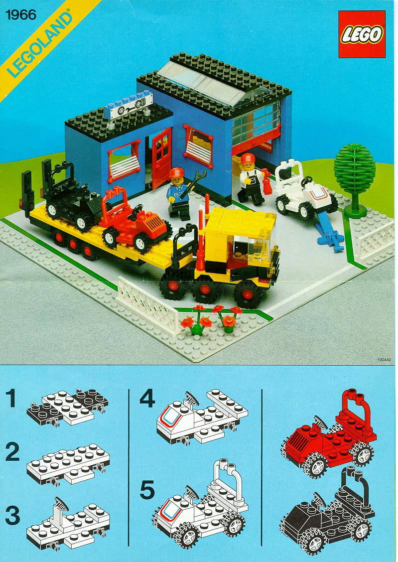 instructions for 1966 1 garage truck and carts. Black Bedroom Furniture Sets. Home Design Ideas