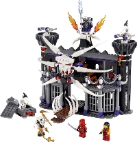 View Instructions For 2505-1 - Garmadon's Dark Fortress