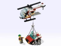 View Instructions For 2531-1 - Airline Promotional Set: Helicopter with Jeep Cargo
