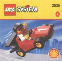 View Instructions For 2535-1 - SHELL Promotional Set: Race Car