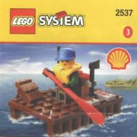 View Instructions For 2537-1 - SHELL Promotional Set: River Raft