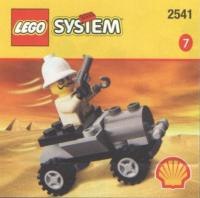 View Instructions For 2541-1 - SHELL Promotional Set: Adventurers' Buggy