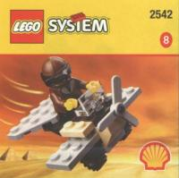 View Instructions For 2542-1 - SHELL Promotional Set: Adventurers' Mini Plane