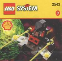 View Instructions For 2543-1 - SHELL Promotional Set: UFO Zipper