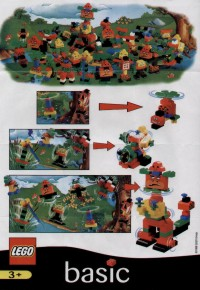 View Instructions For 2719-1 - McDonald's Promotional Set: Heli-Monster