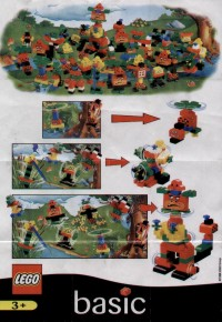 View Instructions For 2744-1 - McDonald's Promotional Set: Propeller Man
