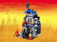 View Instructions For 3052-1 - Ninja's Fire Fortress