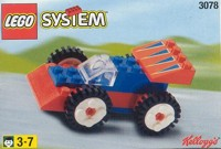 View Instructions For 3078-1 - Kelloggs Promotional Set: Car