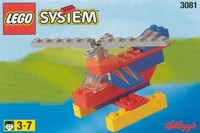 View Instructions For 3081-1 - Kelloggs Promotional Set: Helicopter