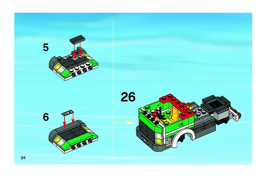 lego city 3180 instructions