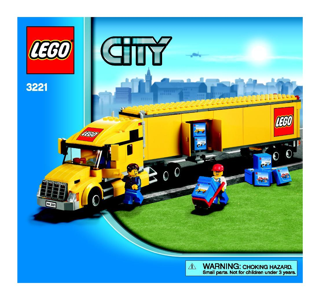 image gallery lego city truck. Black Bedroom Furniture Sets. Home Design Ideas
