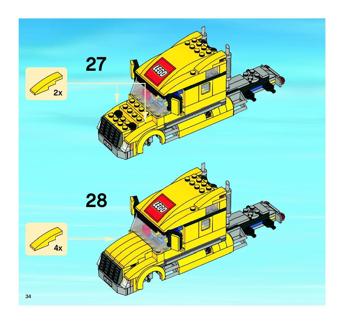 lego city truck instructions the image kid has it. Black Bedroom Furniture Sets. Home Design Ideas